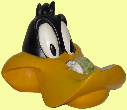 Daffy Duck Head