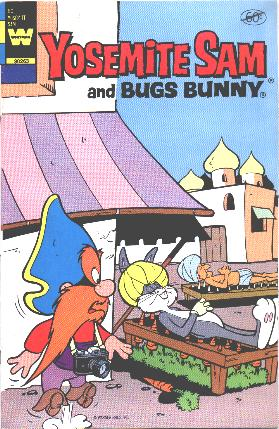 3 COMIC BOOKS BUGS BUNNY YOSEMITE SAM TWEETY /&SYLVESTER NEW SEALED IN BAG 1982